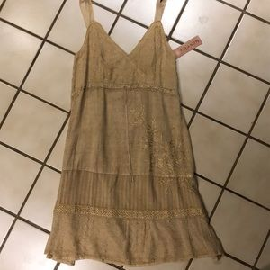 Boho Chic embroidered dress